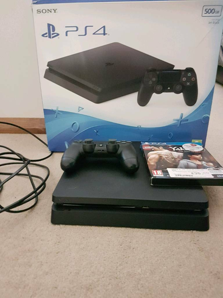 Ps4 slim 500gb with box | in Poole, Dorset | Gumtree