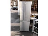 Zanussi silver fridge freezer £135 delivered and installed