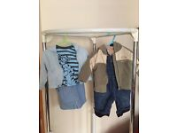 Baby boy infant trousers, dungarees, tops & jackets 3-6m, Ted Baker, Mothercare, M&S, Disney etc