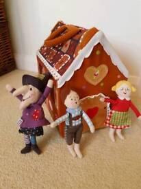 Hansel & Gretel fold out playhouse