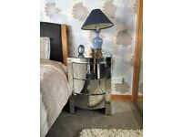 Bedroom mirrored chest of drawers for sale