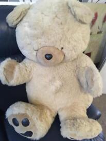 Large fluffy bear