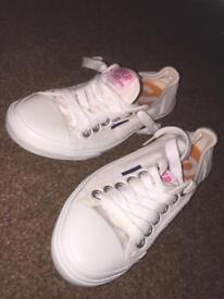 Super dry trainers size 5