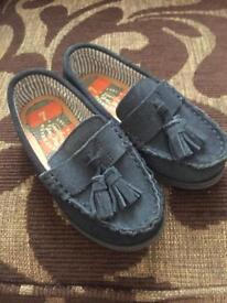 Boys loafers shoes size 7 Next