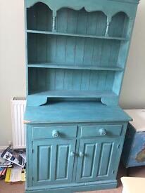 Shabby chic solid pine dresser