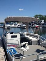 20' pontoon with 2012 Yamaha 60HP