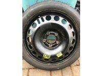 Spare wheel Vauxhall Space Saver