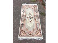 Washed Chinese style rug