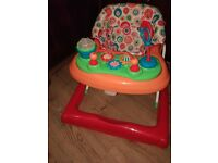 Baby girl walkers in excellent condition