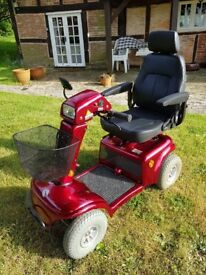 Rascal 850 Class 3 Mobility Scooter with a full set of Accessories includiing loading ramps