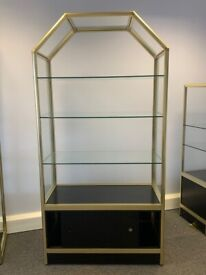 High Quality Commercial Glass Display Cabinets - set of 2