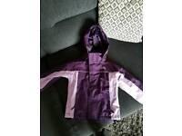 Waterproof coat 3-4 years