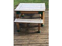 Sandpit/table