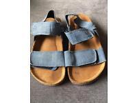 Next size 10 cork-bed sandals