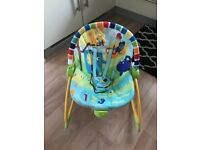 Baby Bouncer Swing with Vibrations - like NEW