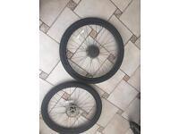 Bike wheels 27.5 inch good condition