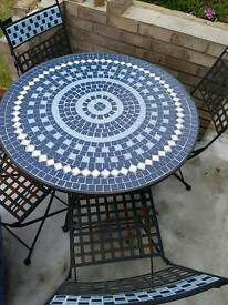 Garden table and chairs - reduced