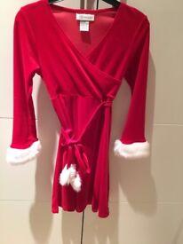 Girls age 7-8 Bonnie Jean Christmas Dress