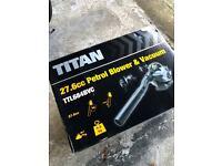 Titan TTL 684 BVC 27.6cc 2-Stroke Petrol Blower & Vacuum