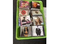 Mixed Box of 200 Music CDs (SET 1)