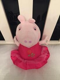 Peppa Pig Once Upon a Time Princess Rose soft toy