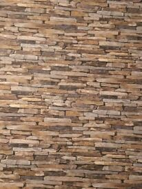 Brick Effect Wallpapers x2