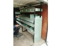 Rack shelf metal