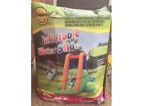 Inflatable water slide- great fun