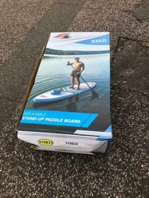 F2 Star Brand new stand up paddle board / SUP / inflatable kayak with  paddle, rucksack, pump & seat | in Hove, East Sussex | Gumtree