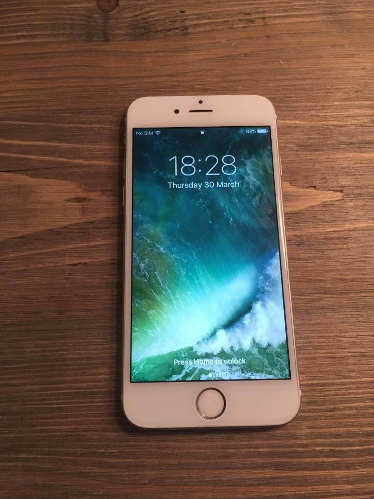 iPhone 6 16gb Vodafonein Stoke on Trent, StaffordshireGumtree - iPhone 6 16gb gold on Vodafone network.Good condition and works like a new phone.Brand new charger included.iCloud removed and phone reset ready for new user.Serial number C38PNCG95MQ for you to checkBargain £150 no offers