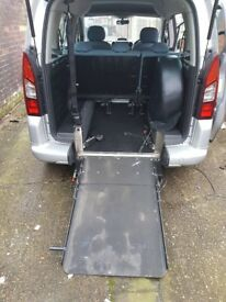 Citroen berlingo 1.6hdi wheelchair