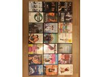 Miscellaneous used DVD's (21 DVD's)