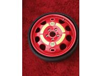 Porsche, VW, AUDI spare wheel and tyre new