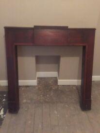 Fireplace original mantle / surround