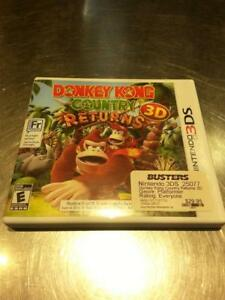 Nintendo 3DS - Donkey Kong Country Returns 3D. (#25077)