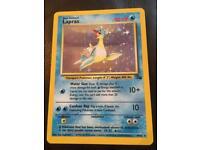 Lapras Pokemon card good condition