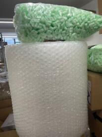 Bubble wrap packing boxes Brighton