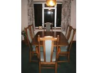 ERCOL HAMPTON dinning table and chairs