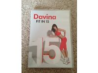 Davina Fit In 15 Workout Exercise DVD
