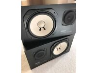 Yamaha NS-10M Studio Monitors + Amp for sale