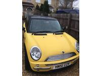 Mini Copper 51 plate 1.6 yellow
