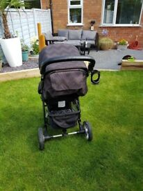 My babiie mb109 eclipse pushchair