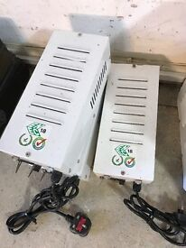 Cheshunt Hydroponics Store - used 600w metal vented power pack ballasts for grow lights