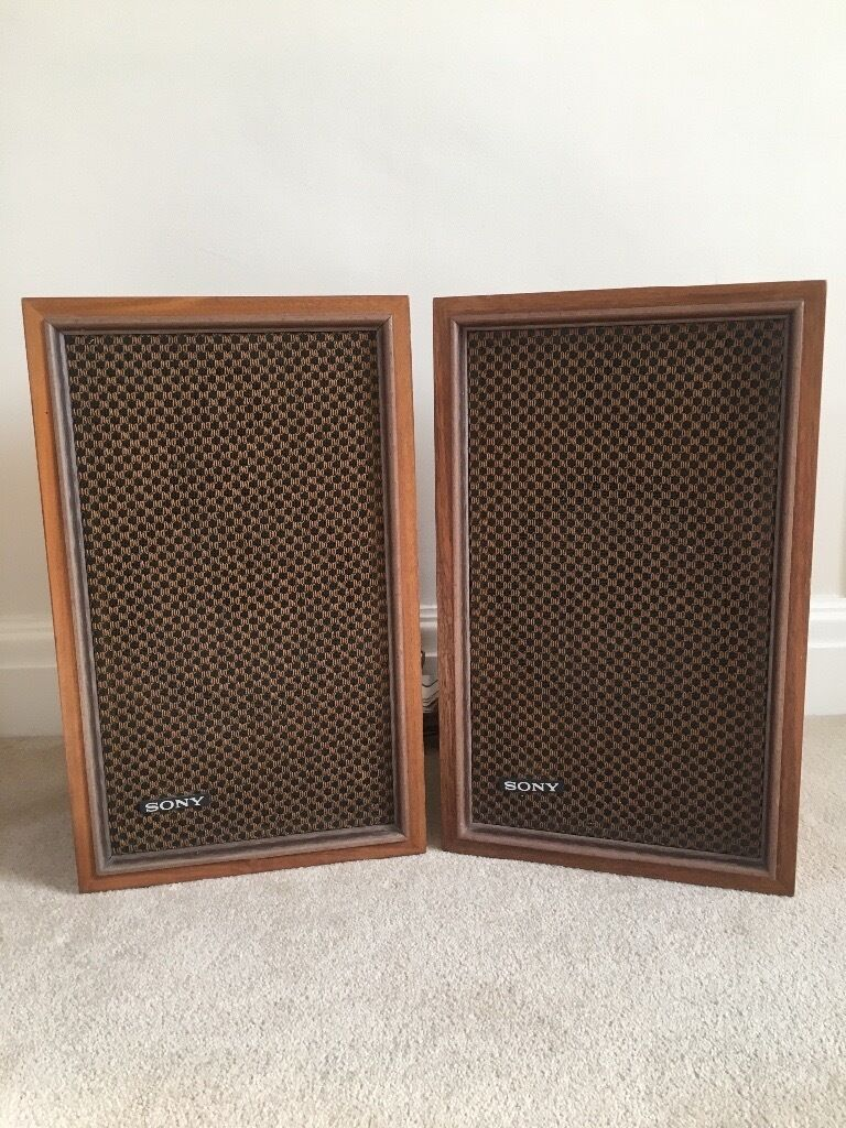 Retro Sony Speakersin Witham, EssexGumtree - Retro Sony Speakers. Great working order. Small chip on back corner. Can be wall mounted. Must be collected by Sunday 2nd July