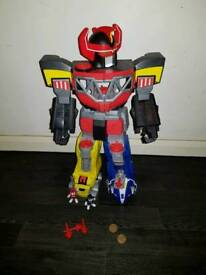 Imaginext power rangers megazord