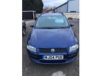 2004 FIAT STILO 1.9 JTD ACTIVE ESTATE BLUE MANUAL