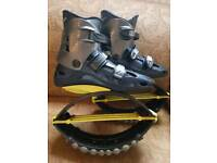 Kangoo Jumps Rebound Shoe XR3 Blue/Yellow Large Bouncing Boots