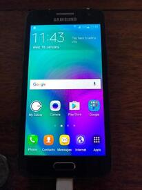 Samsung Galaxy A3 Black 16GB O2