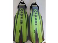 Aqua Lung Blades 2 Scuba Freedive Fins Giant USED