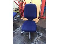 Giroflex orangebox G64 office operator swivel chairs. Delivery
